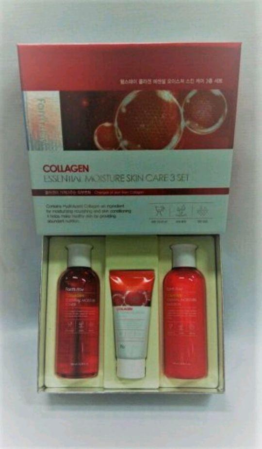 Набор Farm Stay Collagen Essential Moisture skin care 3 set