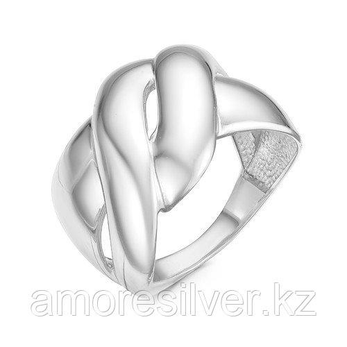 Кольцо Delta серебро с родием, без вставок, геометрия с211076