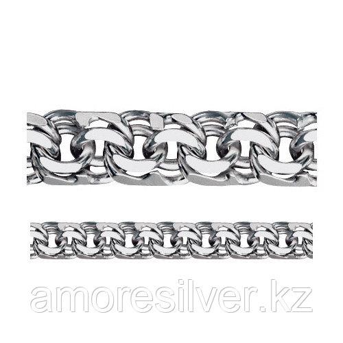 Браслет Адамант серебро с родием, без вставок Ср925Р-107007020