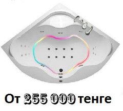 Акриловая ванна Мэрилин (Afrodita) 140х140 см. с гидромассажем. Джакузи