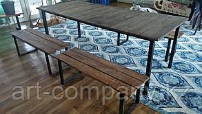 Стол скамейки