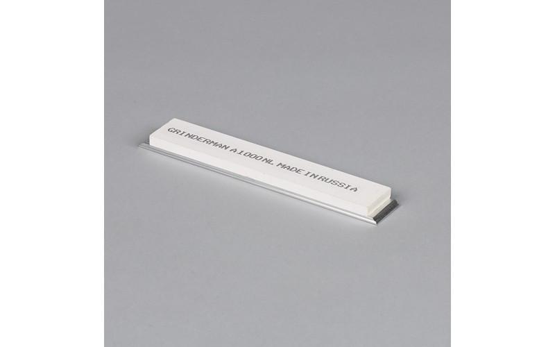 Брусок водный Grinderman из оксида алюминия F1000 на бланках 25х6х150