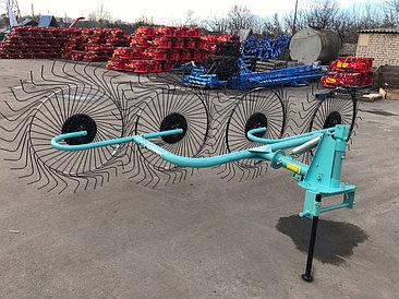 Грабли-ворошилки OGR-4 х колесные (захват 2.6м)