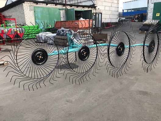 Грабли-ворошилки OGR-4 х колесные, фото 2