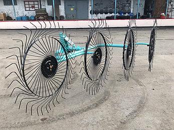 Грабли-ворошилки OGR 4х колесные 2.6м (усиленные), фото 2