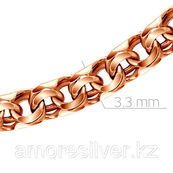 Цепь из серебра  Адамант Ср925П-107005045