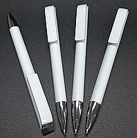 Ручки белые, под нанесения логотипа