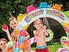 """Детский надувной бассейн с горкой и фонтаном """"Конфетная зона"""" Intex 57149NP, фото 4"""