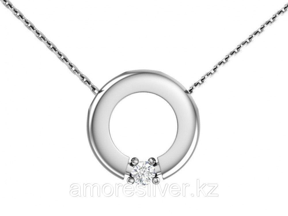 Колье из серебра с фианитом Pokrovsky размеры 45  3121068-00775