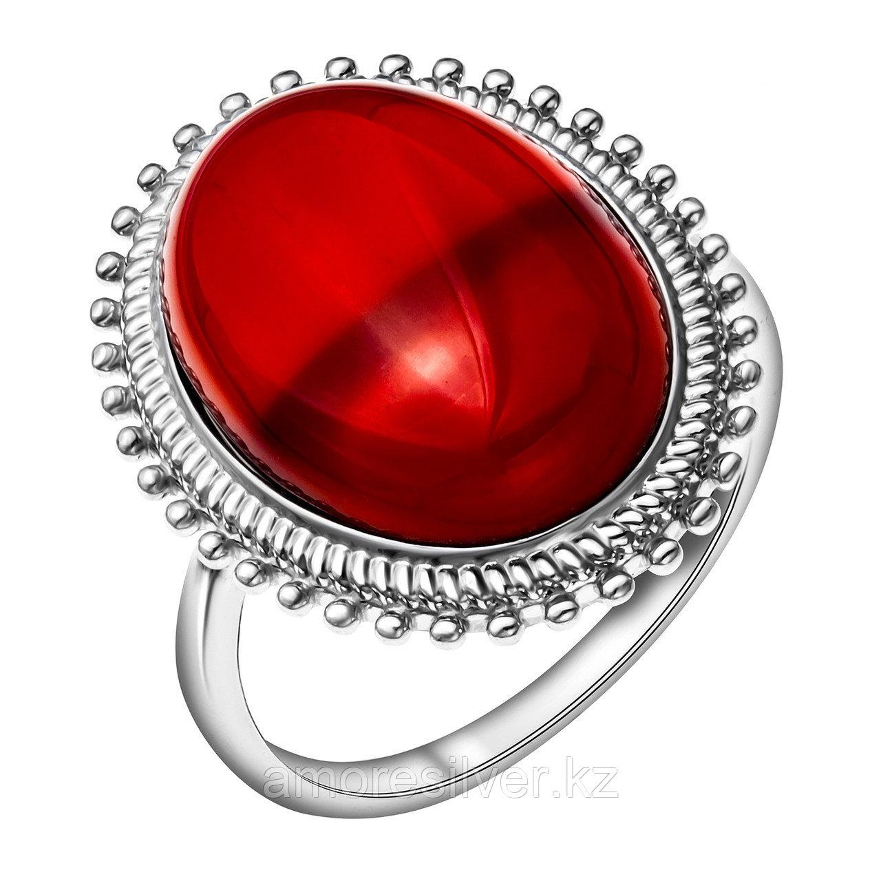 Кольцо из серебра с сердоликом  Приволжский Ювелир 251274-CRN