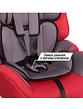 """Автокресло для детей 9-36 кг ZLATEK """"Atlantic"""" LUX красный, 9 мес.-12 лет, группа 1/2/3, фото 3"""