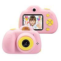 Цифровая камера Digital Camera For Children Pink