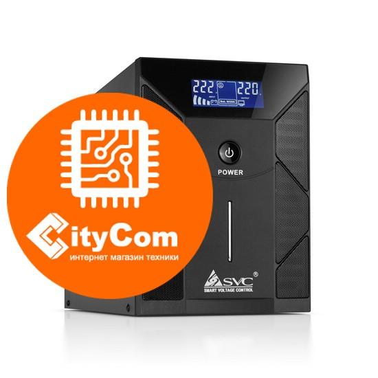Стабилизатор для всего дома, бытовой техники, котла, печки, компьютера SVC V-2000-F-LCD