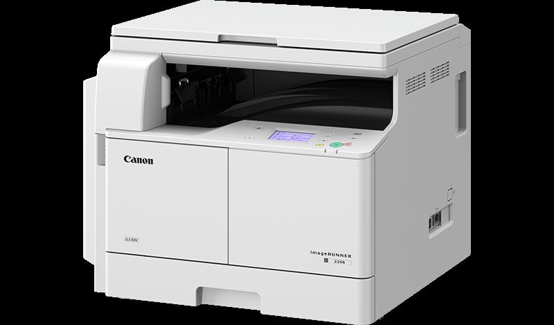Canon imageRUNNER 2206 МФУ (А3, Ч/б печать, в комплекте крышка и тонер C-EXV42))