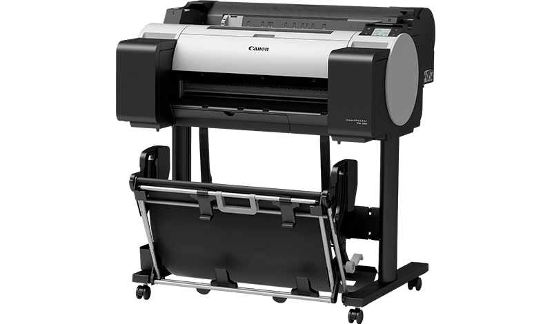 "Canon 3062C003 Плоттер IMAGEPROGRAF TM-200 (24""/610 mm/A1) 5 ink color, 2400 x 1200 dpi, Ethernet, auto cutter"