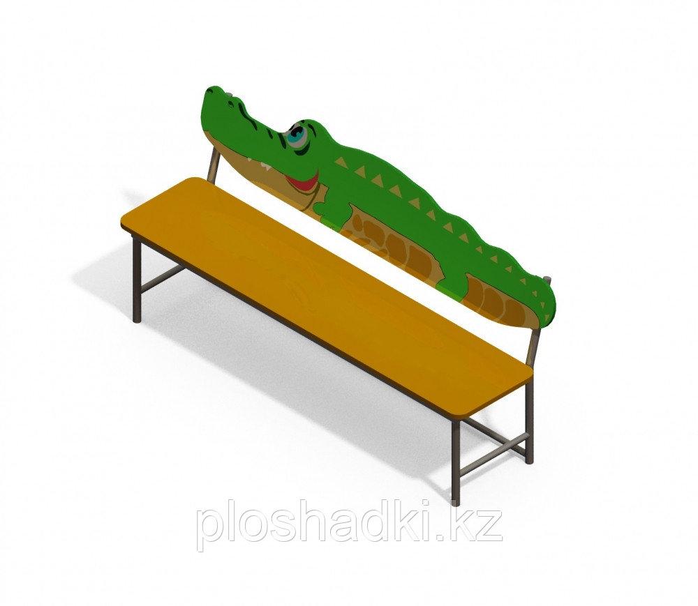 Скамья «Крокодил»