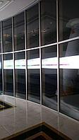 Тонировка офисных перегородок балконов витражей стеклопакетов Бронирование