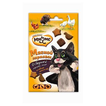 Лакомство для кошек Мнямс, мясной микс