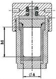 Автоклав гидротермального сосуда SZ160, фото 3