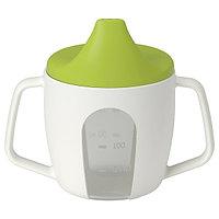 Чашка-поильник БОРЬЯ 200 мл. ИКЕА, IKEA