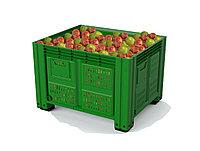 Пластиковый контейнер iBox 1200х1000 перфорированный