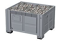 Пластиковый контейнер iBox 1200х1000 сплошной