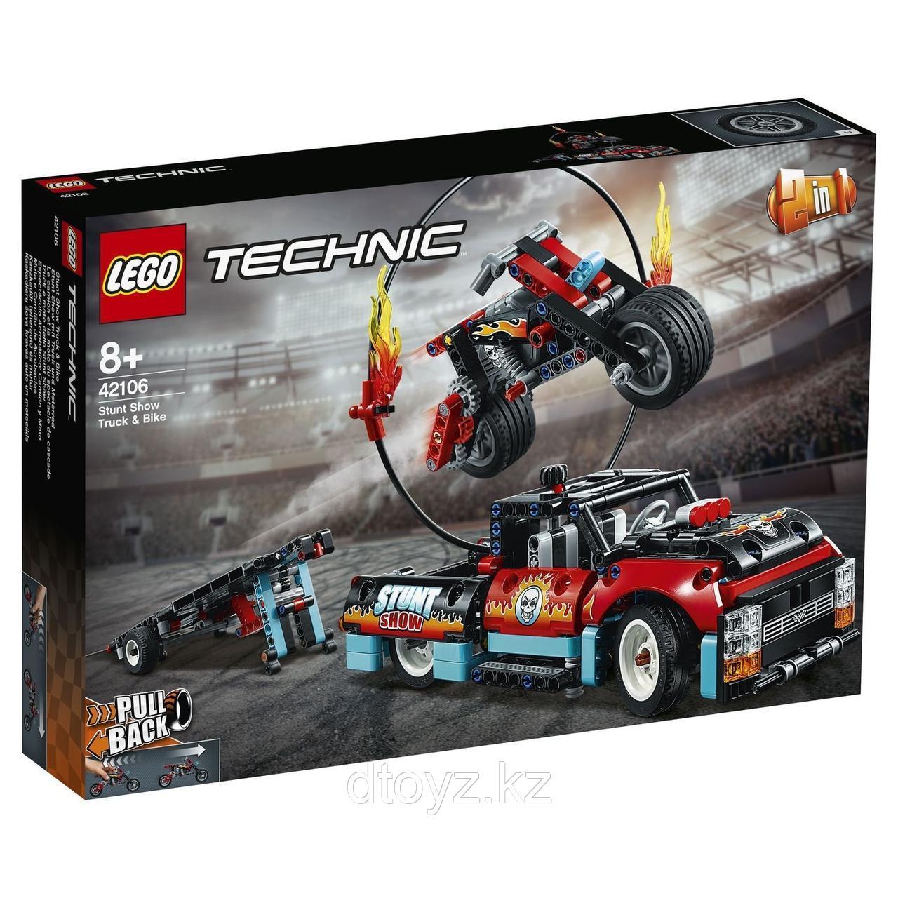 Lego Technic 42106 Шоу трюков на грузовиках и мотоциклах