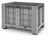 Пластиковый контейнер iBox 1200х800 сплошной, на ножках, фото 1
