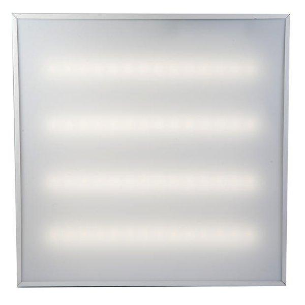 Светодиодная встраиваемая панель 40W Призма 595*595