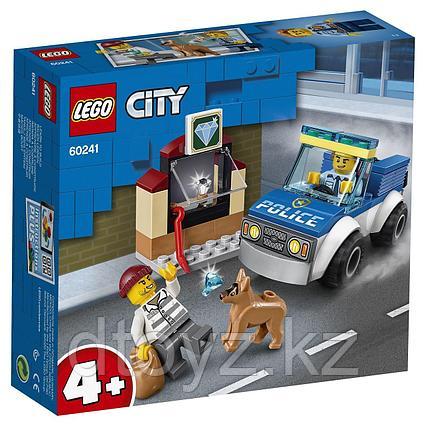 Lego City 60241 Полицейский отряд с собакой