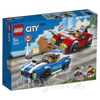 Lego City 60242 Арест на шоссе