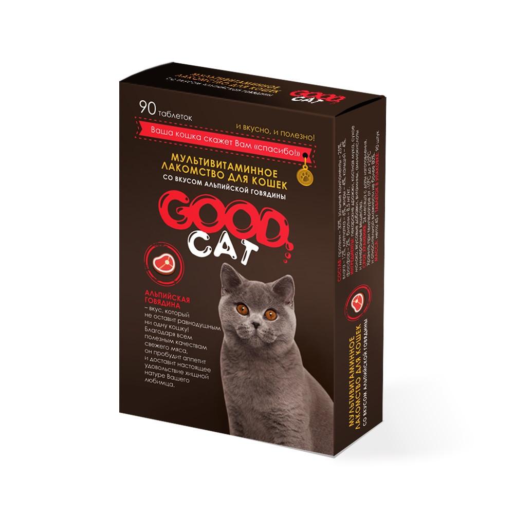 """Good Cat лакомство """"Альпийская говядина"""" для кошек"""