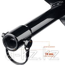 Шнек для мотобуров, грунт, d=80 мм, однозаходный, ЗУБР, фото 3