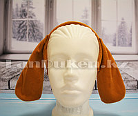 Ободок Собачьи ушки карнавальный ободок Уши спаниеля (коричневый)