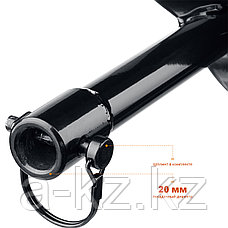 Шнек для мотобуров, грунт, d=250 мм, однозаходный, ЗУБР, фото 3
