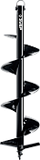 Шнек для мотобуров, грунт, d=200 мм, однозаходный, ЗУБР