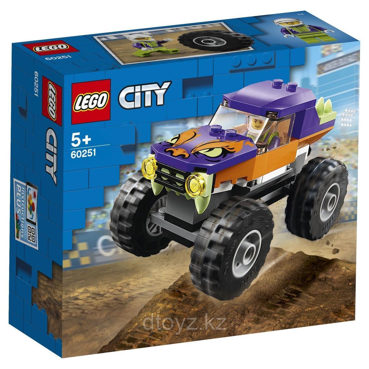 Lego City 60251 Great Vehicles Монстр-трак