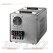 ЗУБР АС 5000 профессиональный стабилизатор напряжения 5000 ВА, 140-260 В, 8%, фото 3