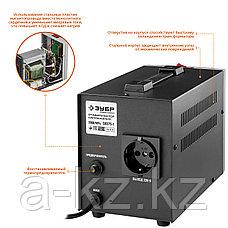ЗУБР АС 2000 профессиональный стабилизатор напряжения 2000 ВА, 140-260 В, 8%, фото 2