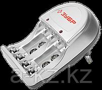 Зарядное устройство ЗУБР для никель-металлгидридных аккумуляторов, в блистере, время зарядки 6 часов, 4хААА/АА