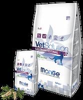 8151 Monge VetSolutionGastrointestinal Cat, Монже ветеринарный корм при нарушениях пищеварения для кошек,1,5кг