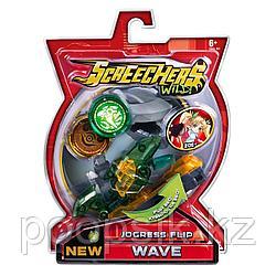 Вейв Дикие скричеры Wave Пиранья машинка трансформер 37759