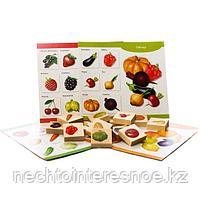 """Лото деревянное """"Овощи и фрукты"""", фото 2"""