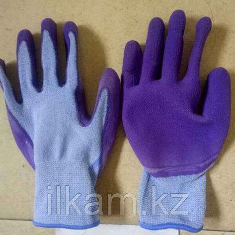 Перчатки нейлоновые с нитриловым покрытием, фото 2