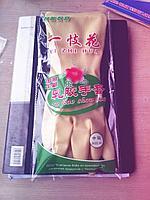Перчатки латексные лилия