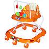 Ходунки детские Bambola Считалка 8 колес оранжевый