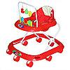 Ходунки детские Bambola Считалка 8 колес красный