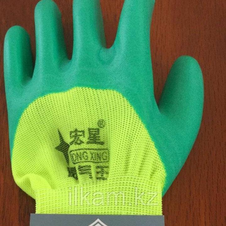 Перчатки прорезиненные комбинированные