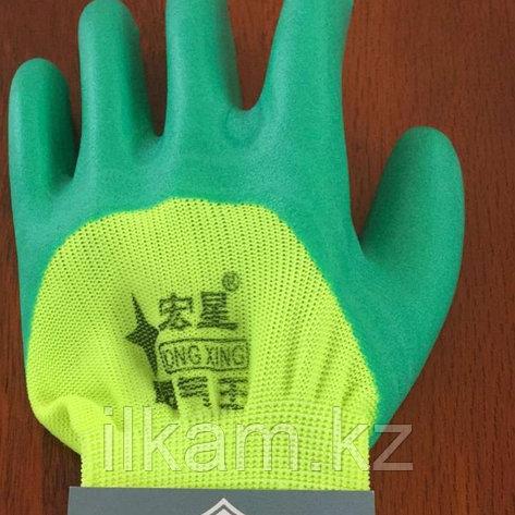 Перчатки прорезиненные комбинированные, фото 2