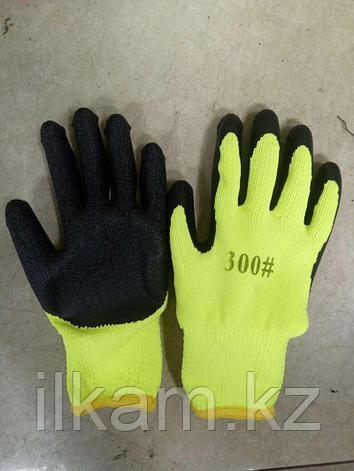 Перчатки 300# желтые, фото 2